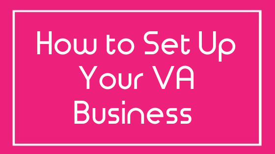 Free course on how on how to set up your VA Business